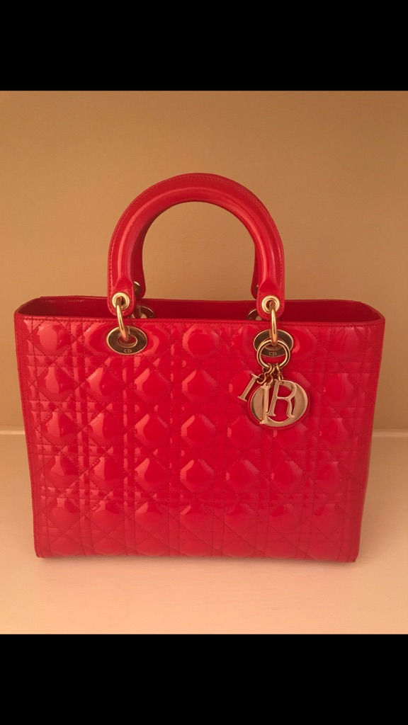 Large Red Lady Dior