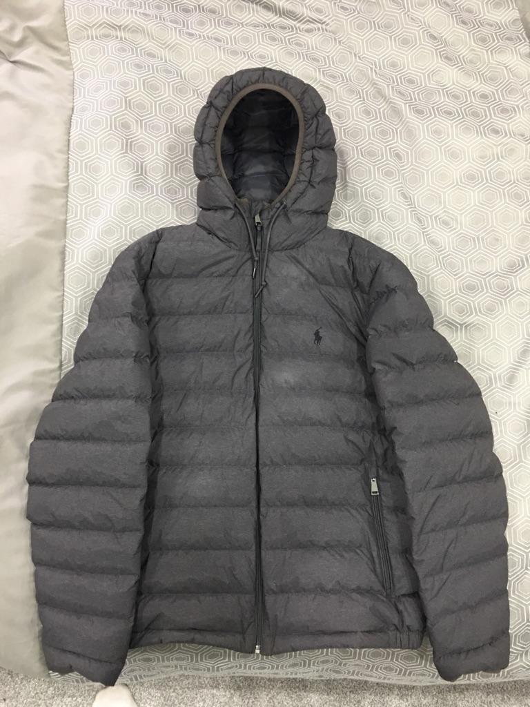 Men's Ralph Lauren Grey Jacket Medium