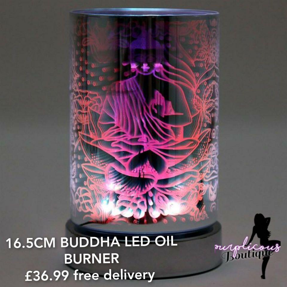 16.5CM BUDDHA LED OIL BURNER