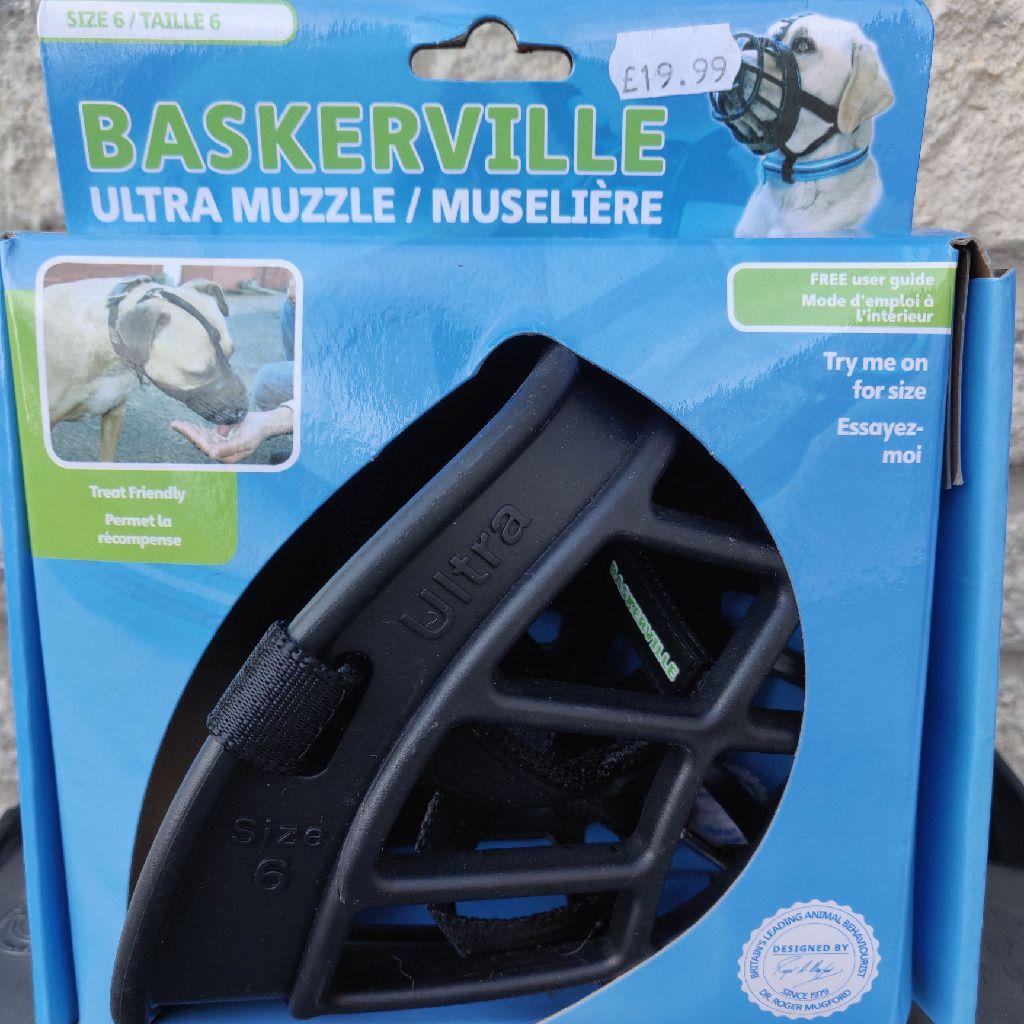 XL dog muzzle