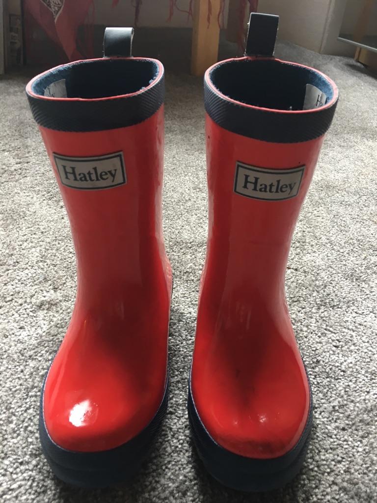 Hatleys kids welly boots