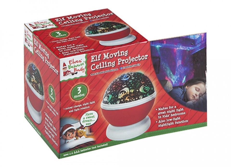 Naughty Elf Ceiling Projector