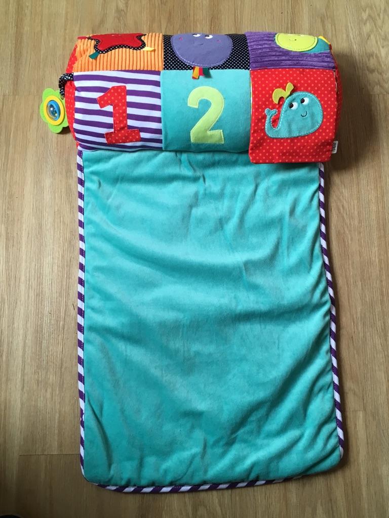 Mamas & Papas tummy time toy and rug