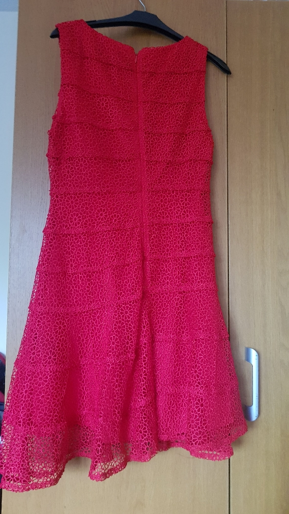 Red Very Dress size 10