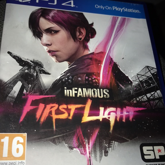 Infamous First Light for PS4