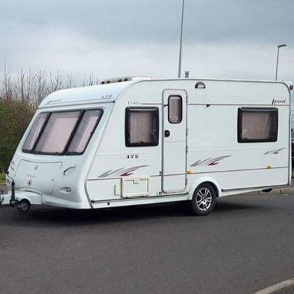 Elddis advante 475 2005 5 berth touring caravan