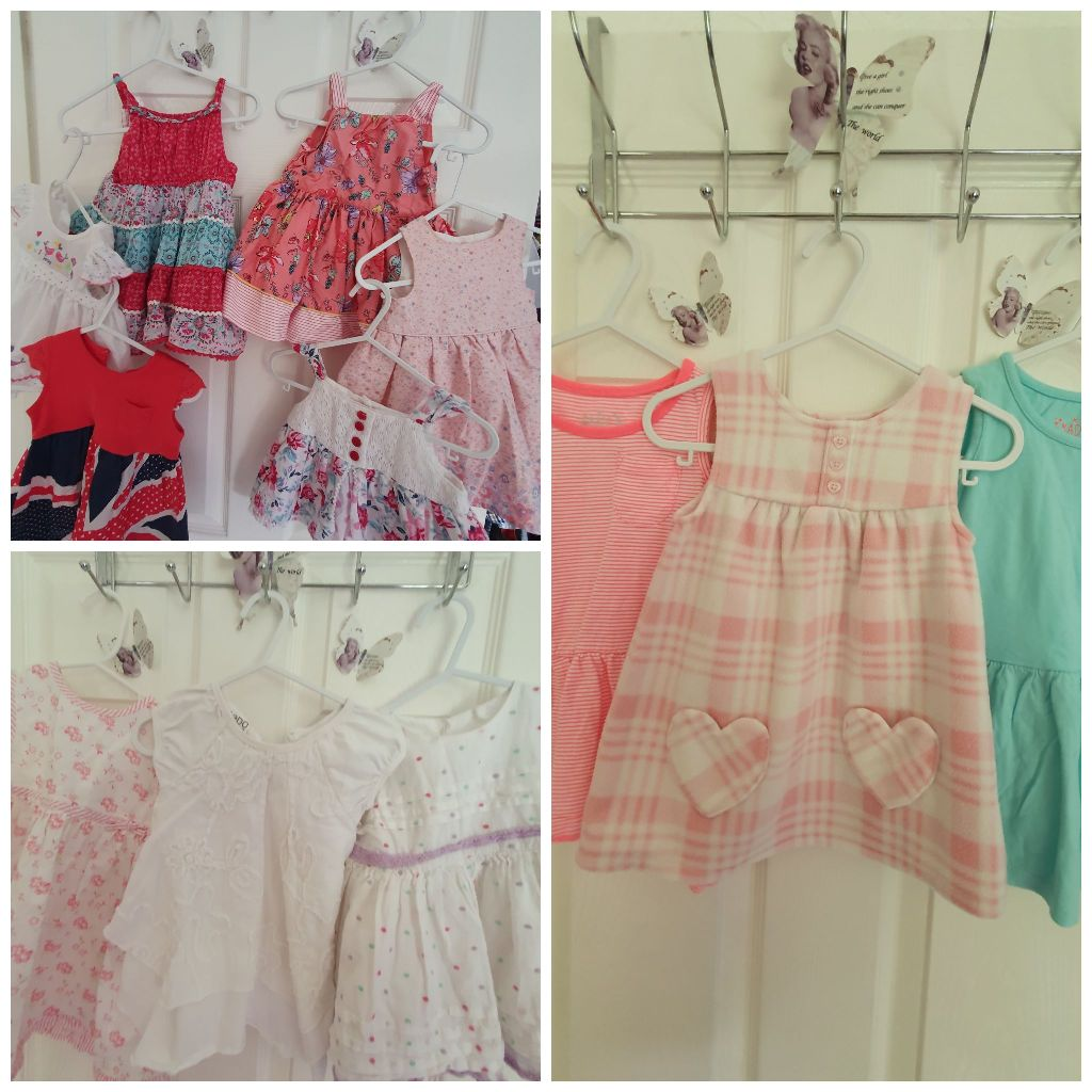 Bundle of 0/3 Dresses