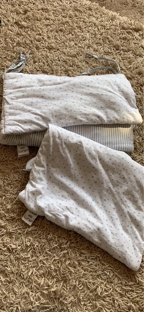 Bumper and quilt set