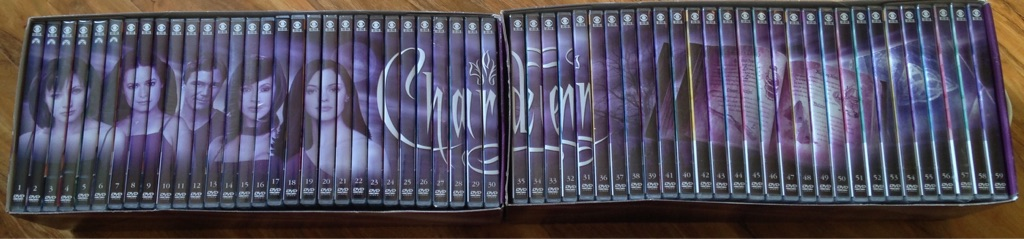 Charmed magazine and DVD collection