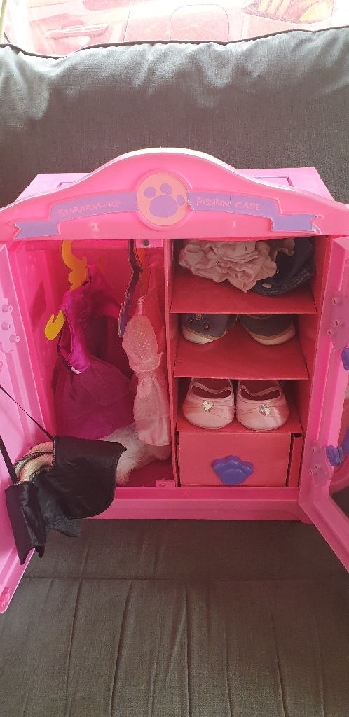 Build a bear wardrobe, bear and accessories