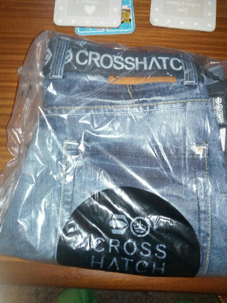 Crosshatch jeans