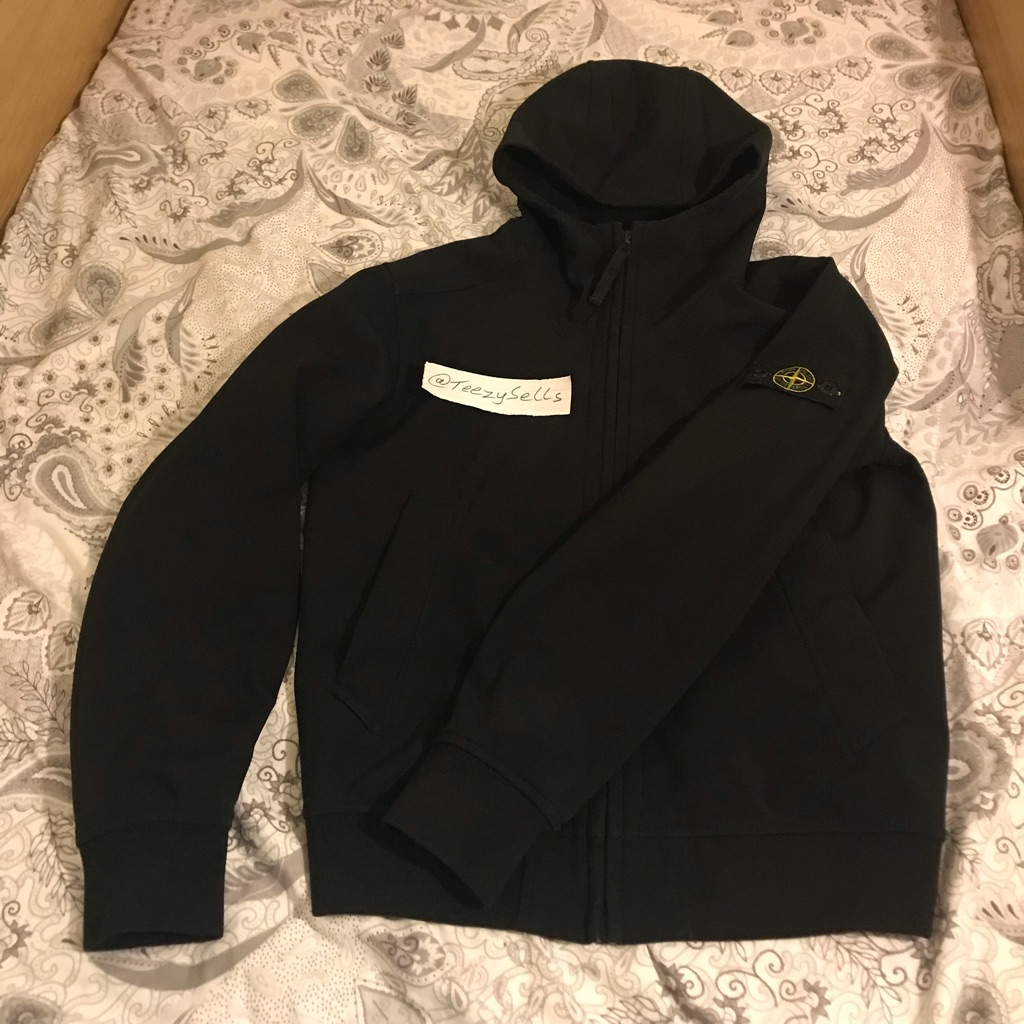 STONE ISLAND JUNIOR 14 SOFT SHELL JACKET