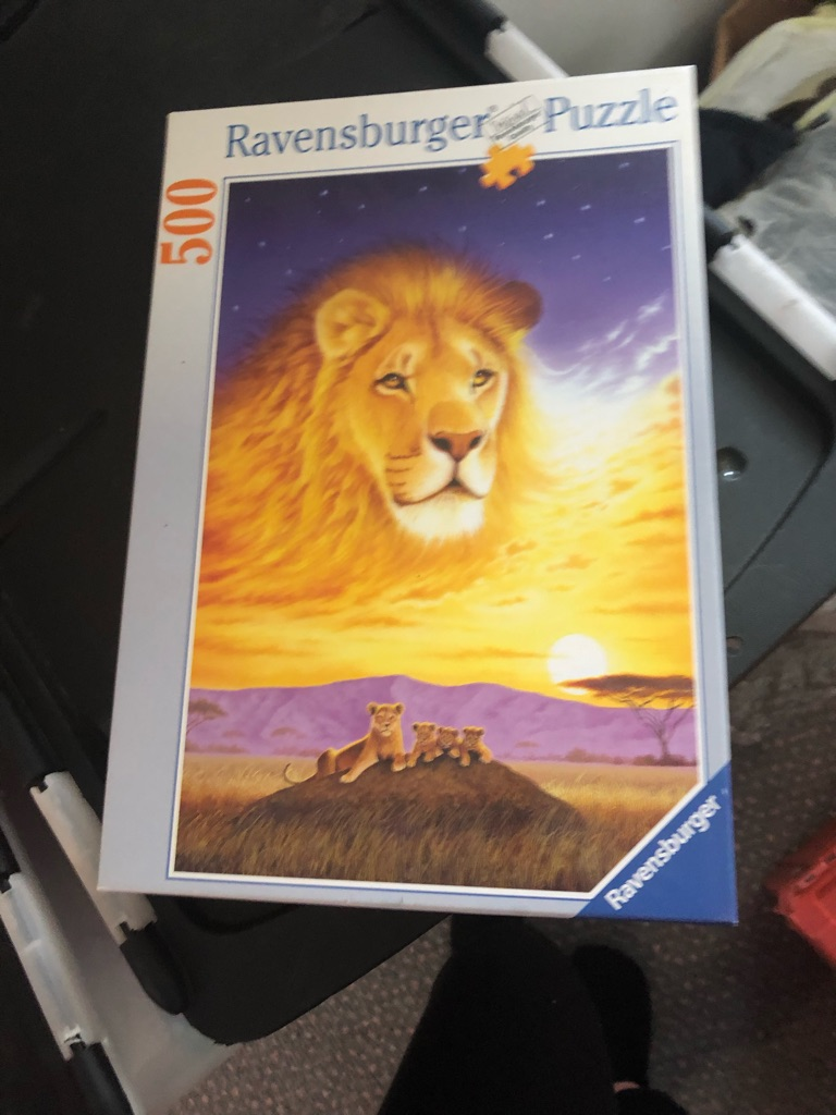 Ravensberger Lion Puzzle