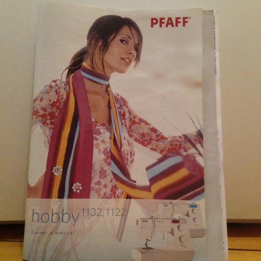 Pfaff 1132 hobby sewing machine