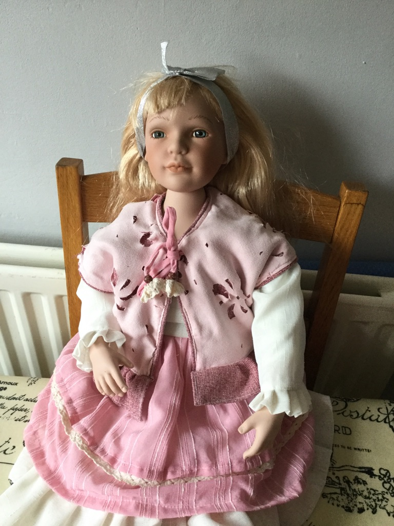 "Beautiful Alberton 24"" porcelain doll"