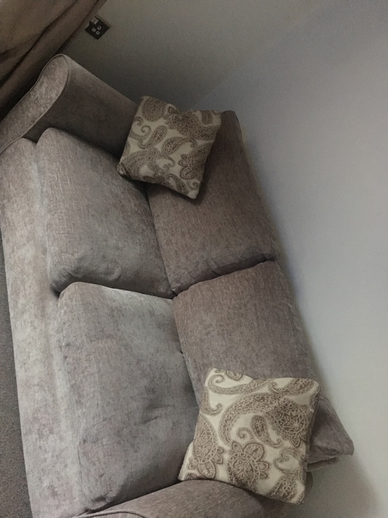 Mink 2 seater sofa