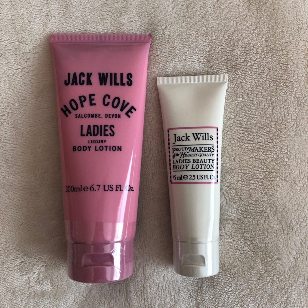 2 x JACK WILLS BODY LOTIONS