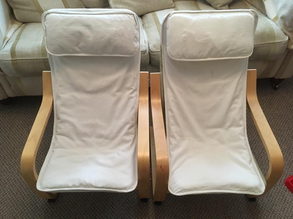 Ikea Children's Poang Chairs