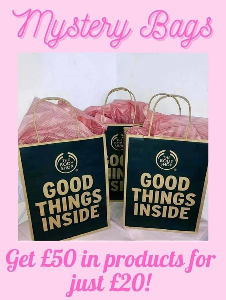 The Body Shop Mystery Bags