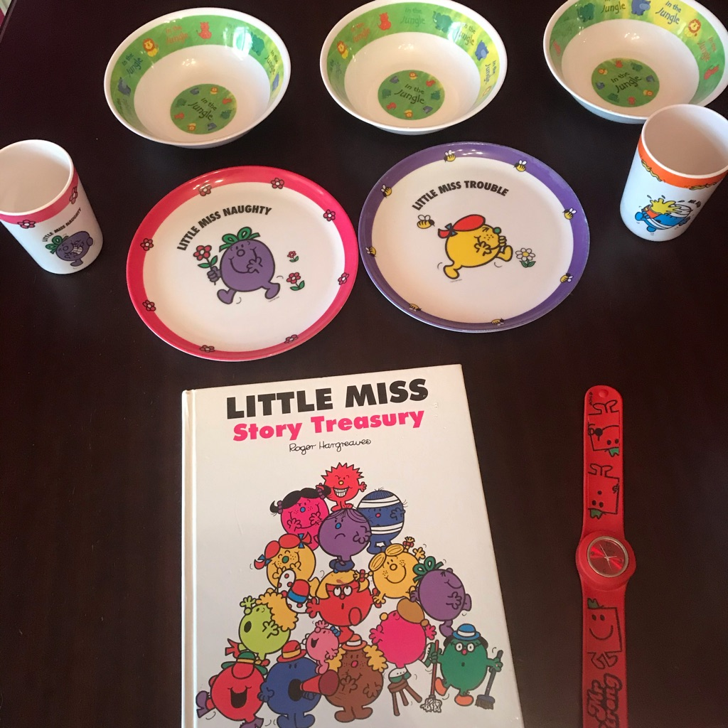 Children's Mr Men & Little Miss Items