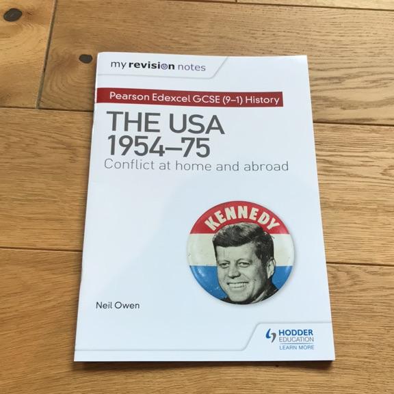 THE USA EDEXCEL HISTORY GCSE