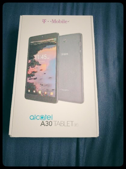 Alcatel 10 Inch Android Tablet w/ Everything Included
