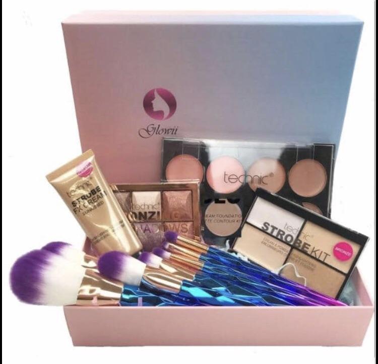 Beauty box, bronzing set