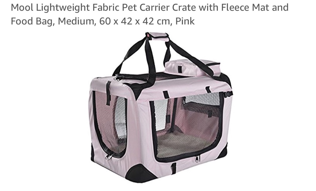 Pet cage/carrier/bed