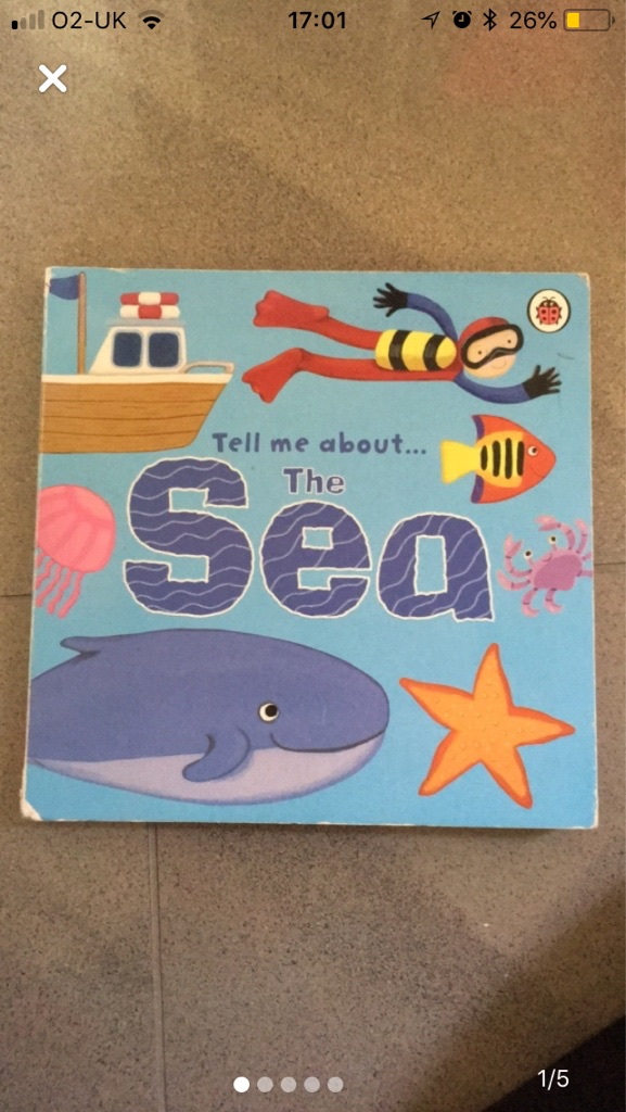 Children's 'sea' book