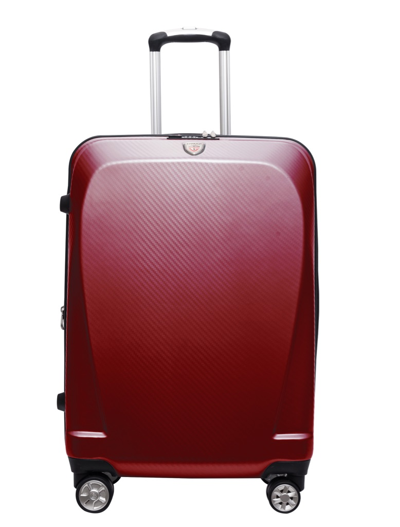 GINZA Travel 100% Polycarbonate hardside expandable luggage with 360 degree dual spinner wheels