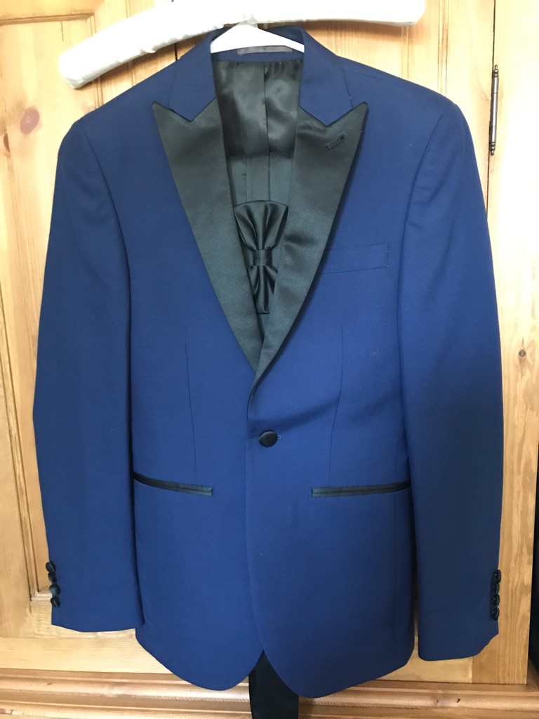 Small Next Royal Blue Tuxedo & Trousers