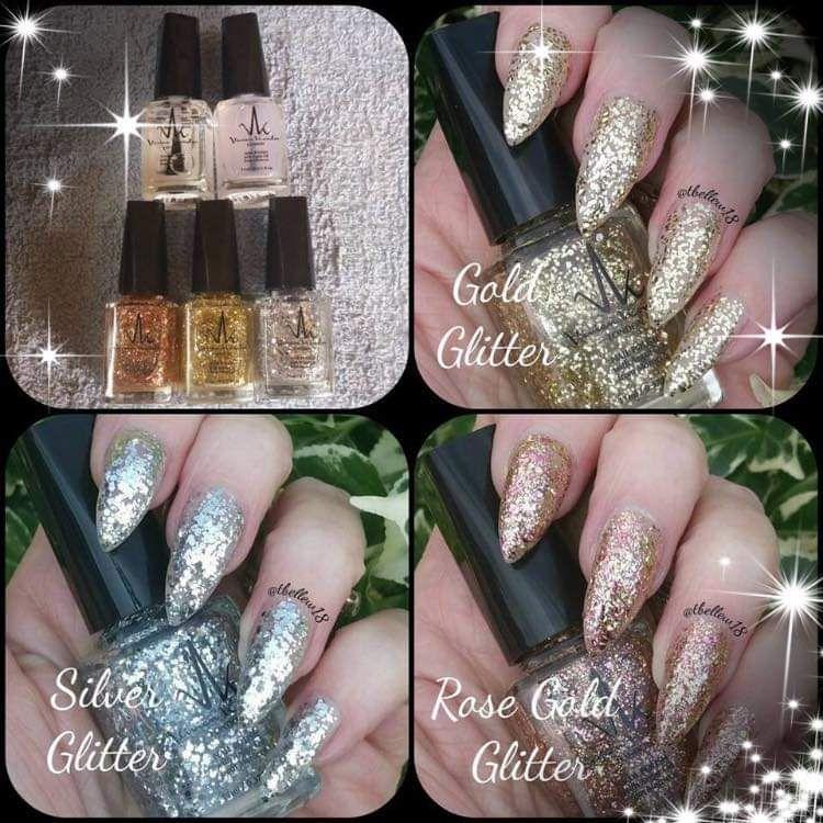Box of 3 glitters