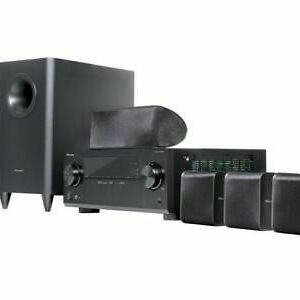Pioneer amp and surround sound speakers
