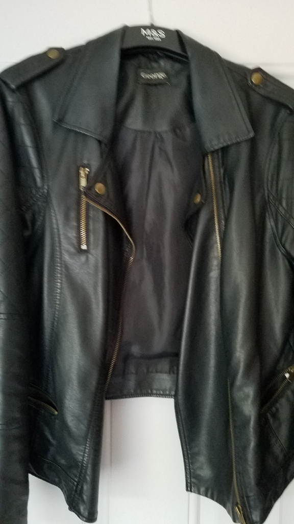 PU biker jacket & Berketex jacket