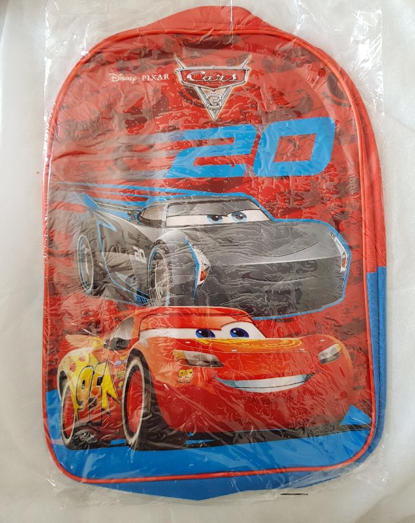 Brand new disney cars backpack