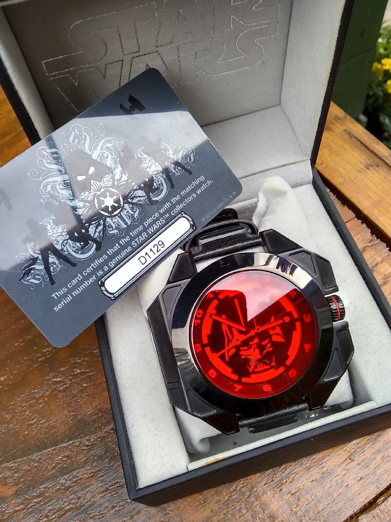 Star wars Collector's watch