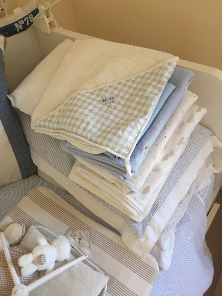 Baby / toddler cot items and others