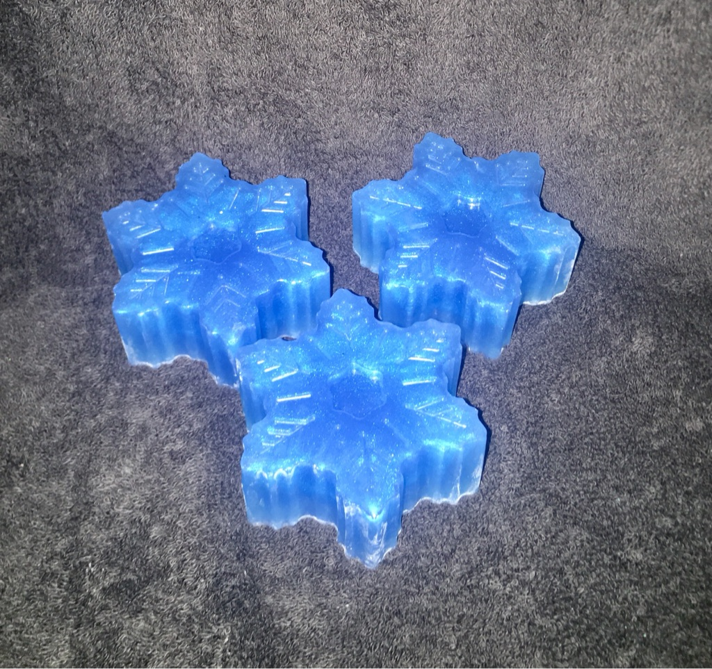 Blueberry muffin scented soap