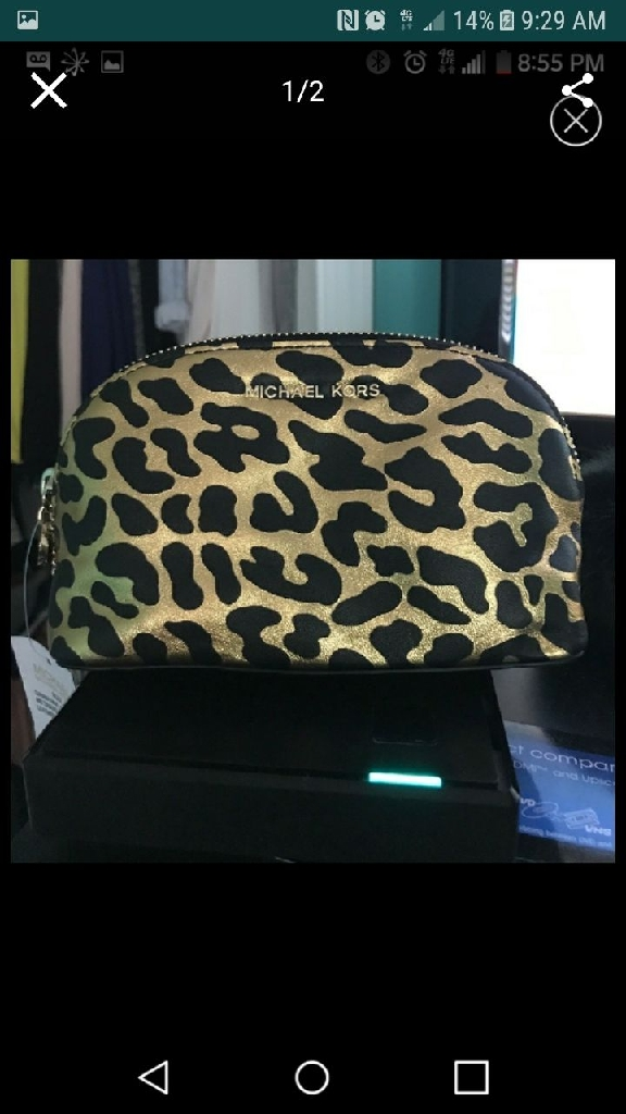 MICHAEL KORS MAKEUP bag