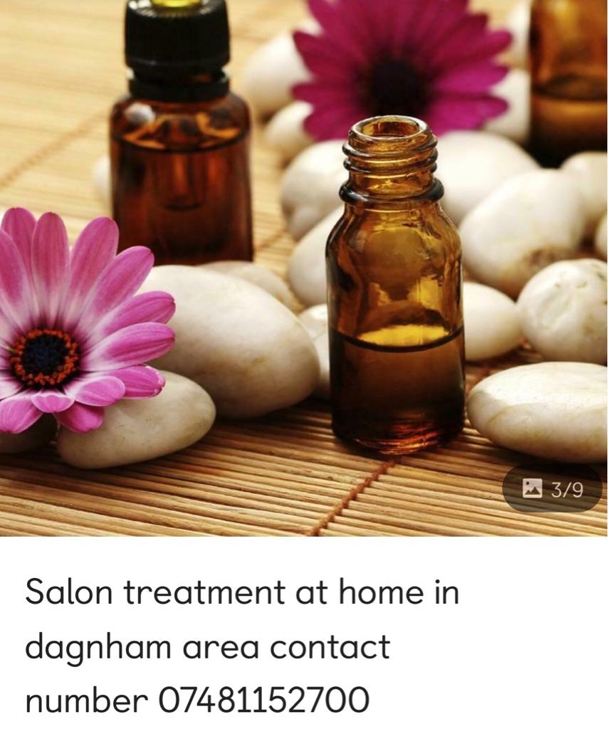 Salon treatment at home barking and dagnham