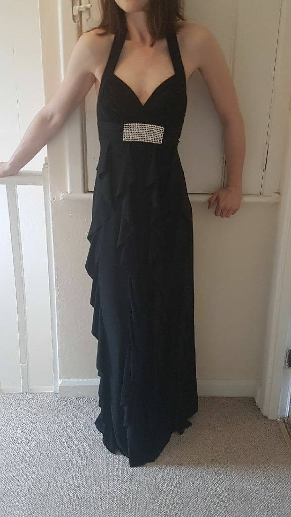 Stunning long black dress