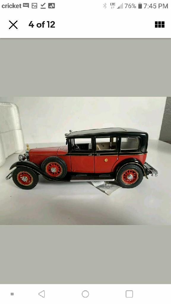 Franklin Mint 1935 Mercedes Benz