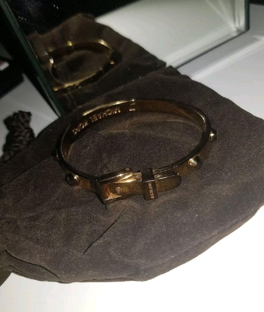 Women's Michael Kors gold bracelet
