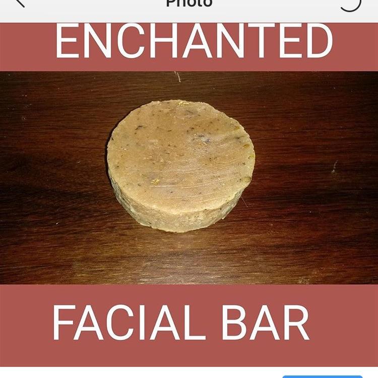 Facial bars. (Soaps)