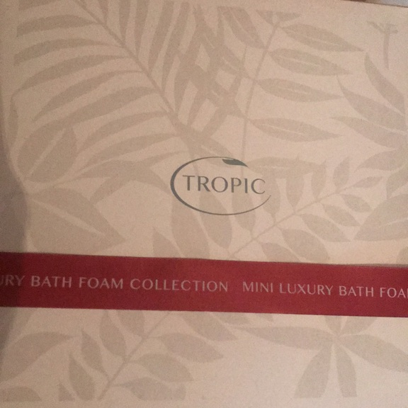 Tropic. Luxury bath foam collection