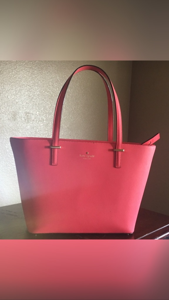 Kate spade tote w duster