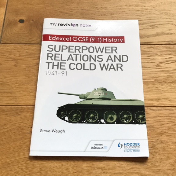SUPERPOWER RELATIONS AND THE COLD WAR