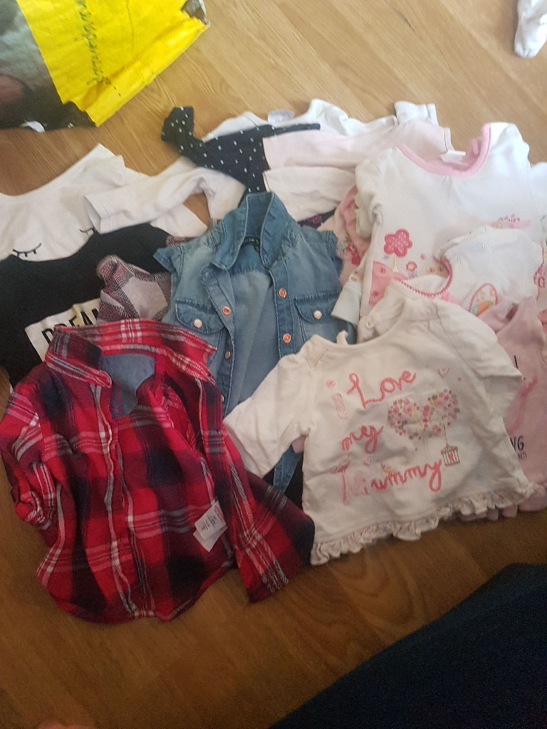 Newborn o to 3 girls bundle