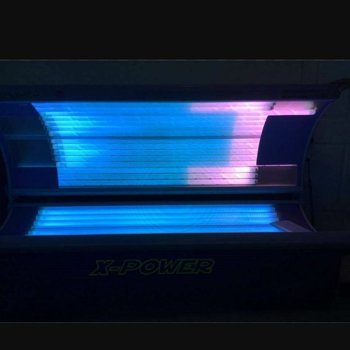 X power tanning bed