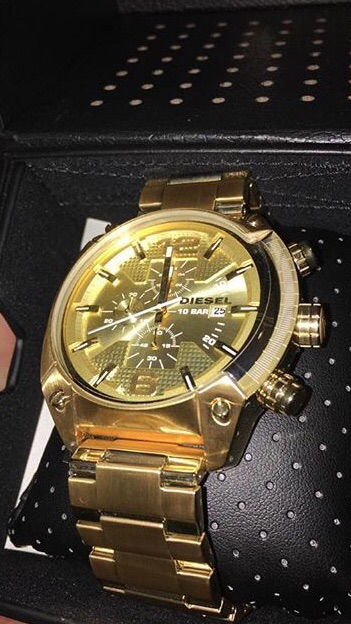 Diesel 10 bar watch